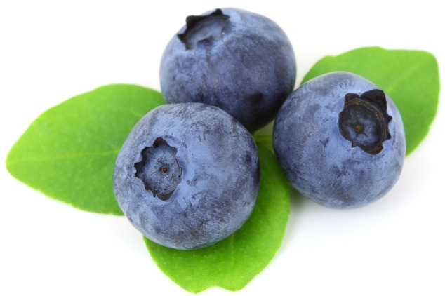 Raw Blueberries