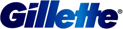 Gillette blue logo