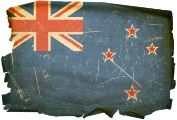 New Zealand flag, burned paper, verdetax.com